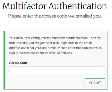 EchoSpan Multi-factor authentication